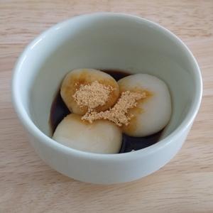 豆腐の白玉だんごの画像