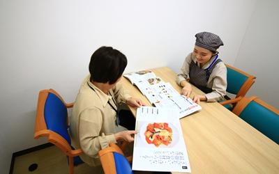 栄養指導の画像